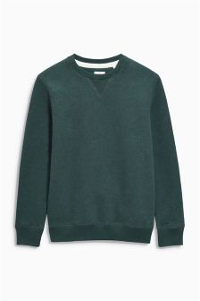 Sueded Crew Jumper