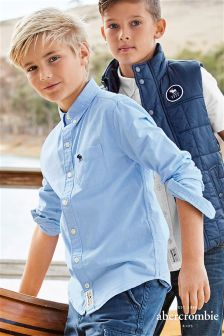 Abercrombie & Fitch Blue Chambray Shirt