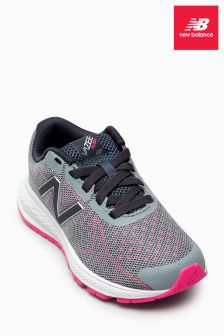 New Balance Grey/Pink Vazee Rush V2 Trainer
