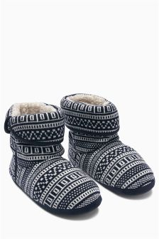 Fairisle Pattern Boot