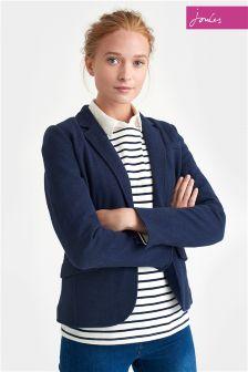 Joules Navy Olivia Soft Jersey Blazer