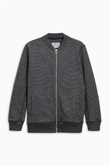 Texture Bomber Jacket (3-16yrs)