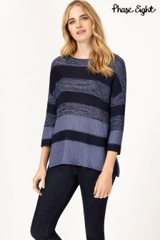 Phase Eight Annah Subtle Stripe Knit