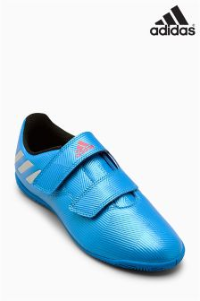 adidas Messi 16.4 Indoor Velcro Blue Football Boot