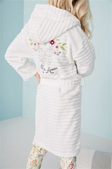 Embroidered Butterfly Robe (3-16yrs)