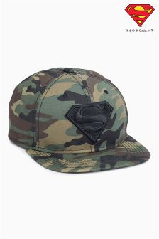 Superman® Camo Cap (Older Boys)