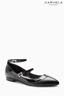 Carvela Lucy Black Pointed Pump