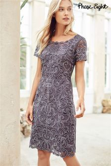 Phase Eight Grey Taya Dress