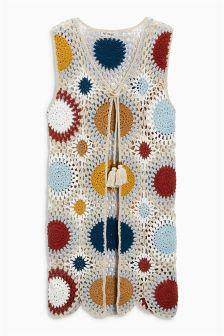 Crochet Waistcoat (3-16yrs)
