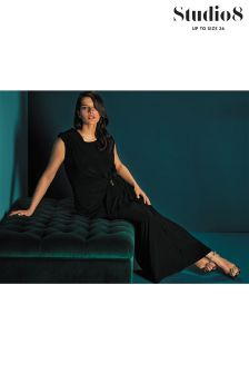 Studio Eight Black Remi Maxi Dress