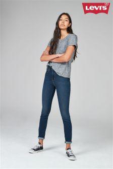 Levi's® Indigo High Rise 721 Skinny Amnesia Jean