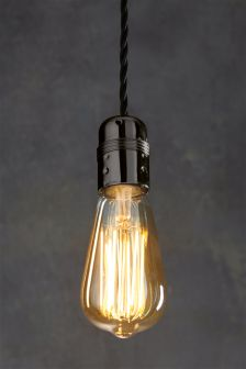 4W ES LED Retro Pear Bulb