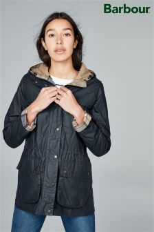 Barbour® Navy 4oz Durham Jacket