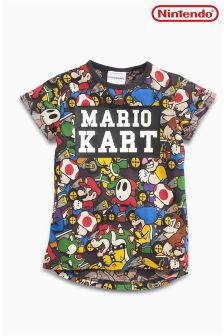 Mario Kart All Over Print T-Shirt (4-14yrs)
