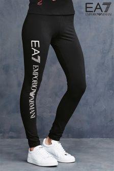 Emporio Armani EA7 Black Legging
