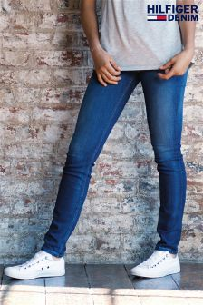 Hilfiger Denim Dark Wash High Rise Skinny Santana Jean