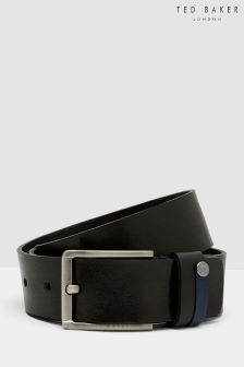 Ted Baker Black Contrast Belt