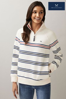 Superdry Cream Luxe Hand Knit Jumper