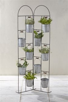 Large Bucket Planter Stand