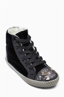 Velvet High Tops (Older Girls)