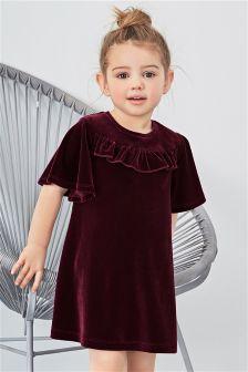 Velour Dress (3mths-6yrs)
