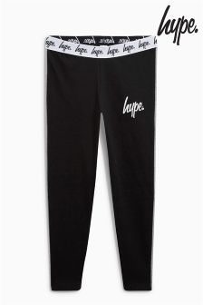 Hype Black/Grey Side Panel Legging