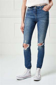 Ripped Jeans for Women | Ladies Ripped Skinny Jeans | Next UK
