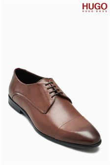 Hugo By Hugo Boss Tan Dressap Toecap Derby Shoe