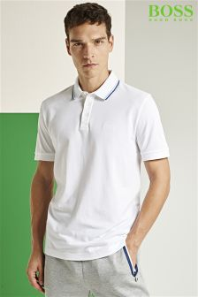 Boss Green White C Varenna Polo