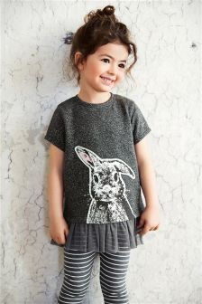 Rabbit Leggings Two Piece Set (3mths-6yrs)