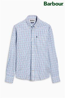 Barbour® Plum Patrick Tattersall Check Shirt