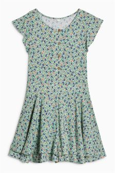 Ditsy Printed Playsuit (3-16yrs)