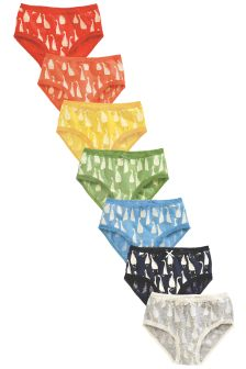 Goose Briefs Seven Pack (1.5-16yrs)