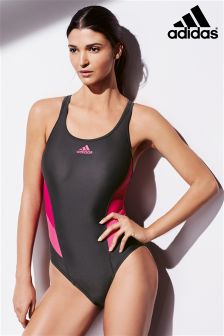 adidas Grey/Pink Swimsuit