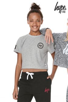 Hype Cropped T-Shirt