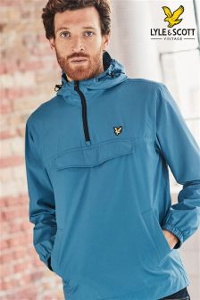 Lyle & Scott Teal Pull Over Anorak