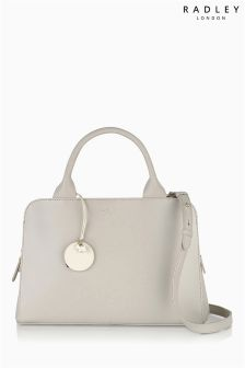 Radley® Natural Millibank Medium Zip Top Grab Bag