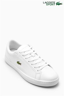 Lacoste® White Straightset