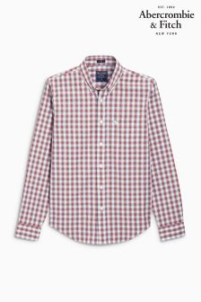 Abercrombie & Fitch Red/Blue Check Shirt