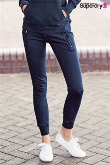 Superdry Navy Luxe Lite Edition Slim Jogger