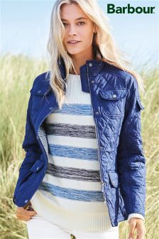 Barbour® Blue Stripe Dock Knit