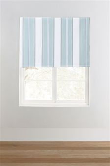 Pastel Stripe Blackout Roller Blind