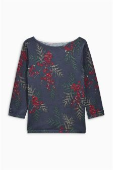 Slash Neck Sweater