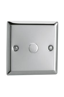Chrome Single Touch Dimmer Switch