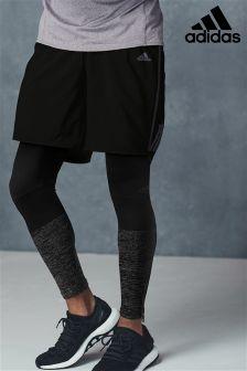adidas Black Run Short
