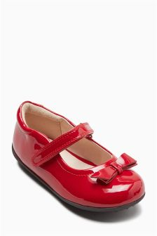 Mary Jane Bow Shoes (Younger Girls)