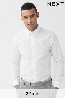 Plain Shirts Two Pack