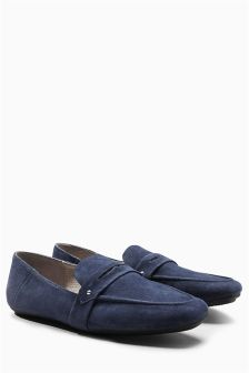 Signature Luxury Fit Leather Loafers