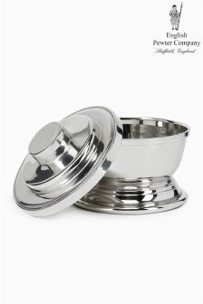 English Pewter Company Shaving Bowl