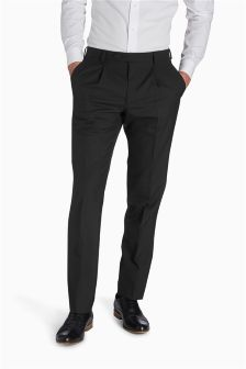 Pure Wool Suit: Trousers